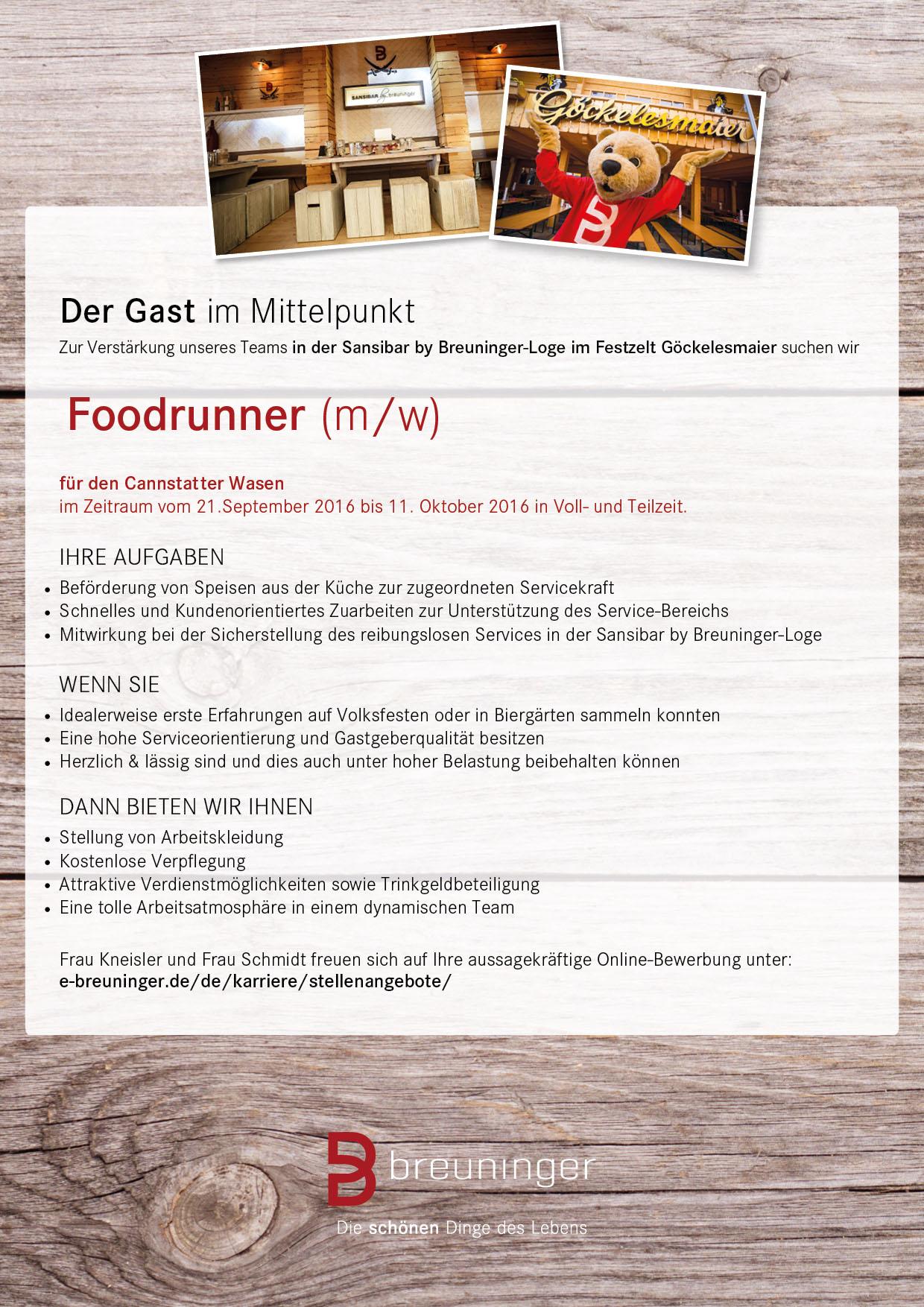 160357_AZ_StellenanzeigeVolksfest_HotelCareer_ST_210x297_Foodrunner_x1